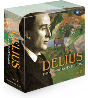 Product photo of Delius 150th anniversary CD album