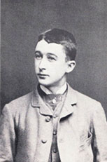 Fritz Delius in the mid-1870s