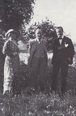 Jelka, Delius and Henry Clews at Grez
