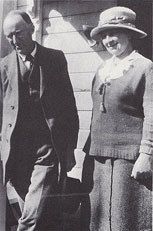 Delius and Jelka in Norway, 1921